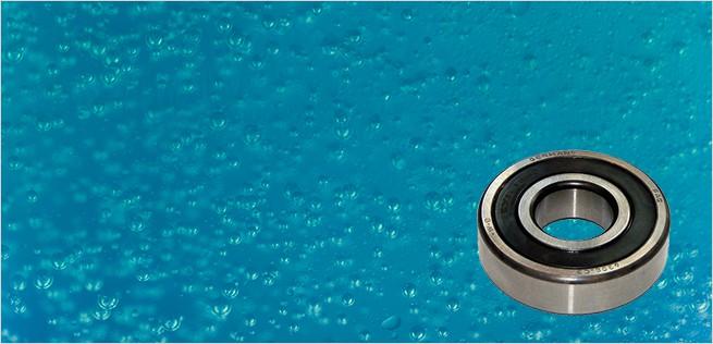 Roulement à bille étanche à l'eau